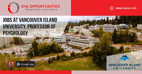 Jobs at Vancouver Island University
