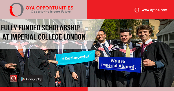 Fully Funded Scholarship at Imperial College London
