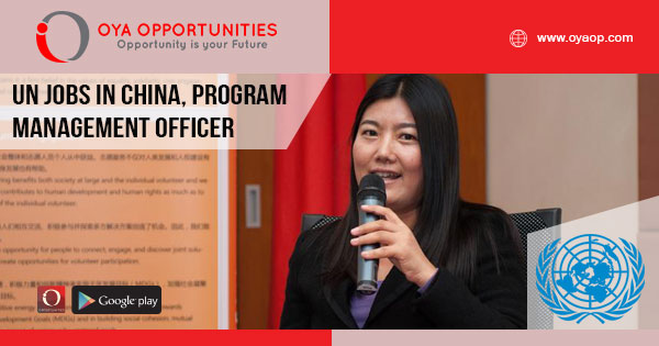 UN Jobs in China, Program Management Officer
