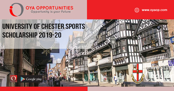 University of Chester Sports Scholarship 2019-20