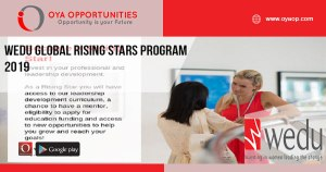 Wedu Global Rising Stars Program 2019