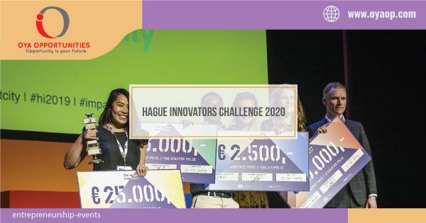 Hague Innovators Challenge 2020