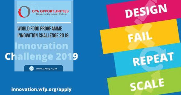 World Food Programme Innovation Challenge 2019