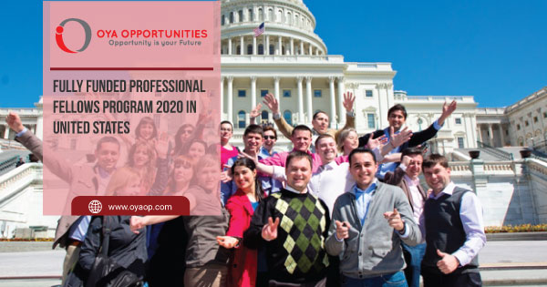 Fully Funded Professional Fellows Program 2020 in United States