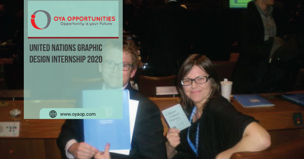 United Nations Graphic Design Internship 2020