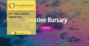 Getty Images Creative Bursary 2019