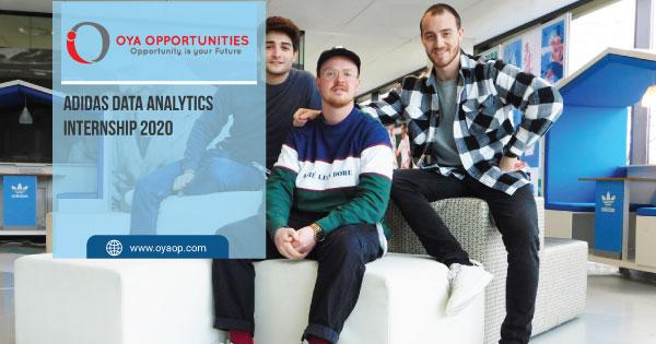 Adidas Data Analytics Internship 2020