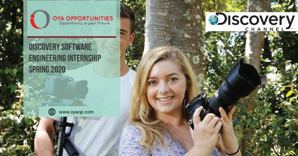 Discovery Software Engineering Internship Spring 2020
