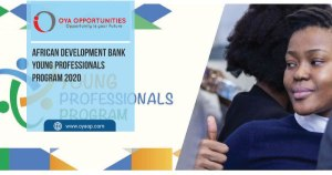 African Development Bank Young Professionals Program 2020