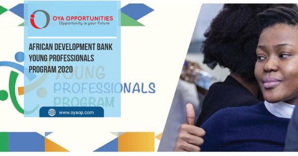 African Development Bank Young Professionals Program 2020