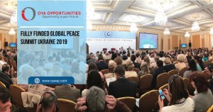 Fully Funded Global Peace Summit Ukraine 2019