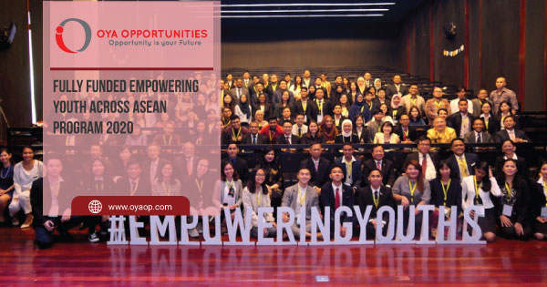 Fully Funded eMpowering Youth Across ASEAN Program 2020