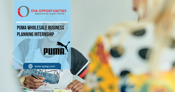 Puma Wholesale Business Planning Internship