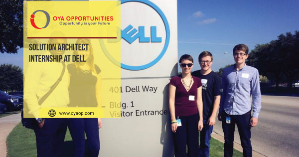 Solution Architect Internship at Dell