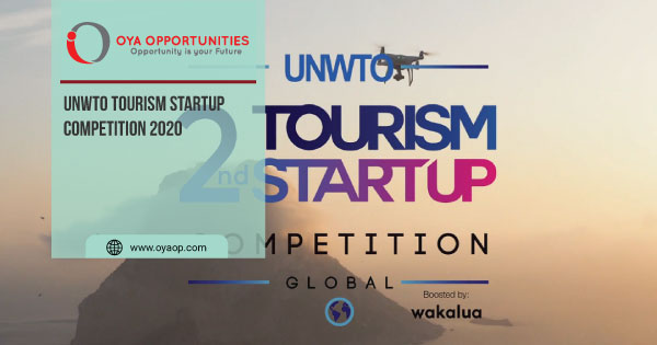UNWTO Tourism Startup Competition 2020
