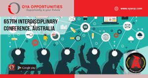 657th Interdisciplinary Conference, Australia