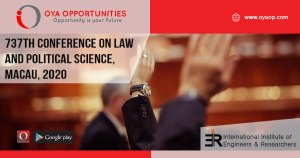 737th Conference on Law and Political Science