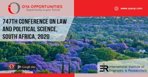 747th Conference on Law and Political Science, South Africa