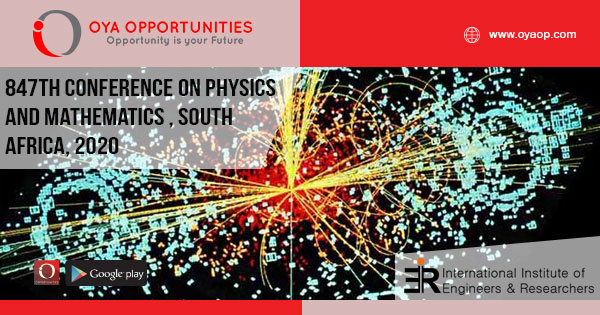 847th Conference on Physics and Mathematics