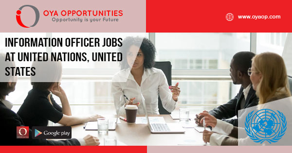 Information Officer Jobs at UN, New York