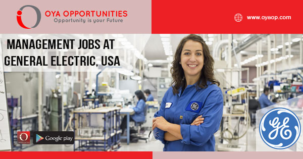 Management Jobs at General Electric