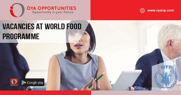 Vacancies at World Food Programme
