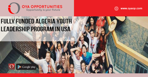 Fully Funded Algeria Youth Leadership Program in USA