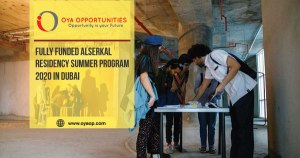 Fully Funded Alserkal Residency Summer Program 2020 in Dubai