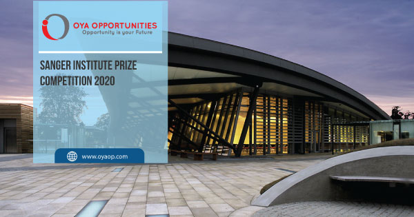 Sanger Institute Prize Competition 2020