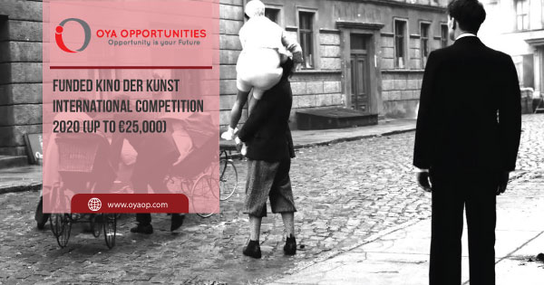 Funded Kino Der Kunst International Competition 2020 (Up to €25,000)