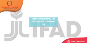 "Funded IFAD Photo Contest on ""Youth and Rural Development"" 2020"