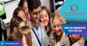 Marketing Program Intern 2020 at Intel USA