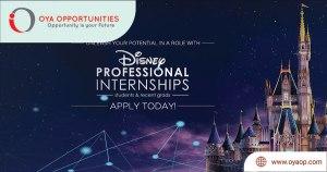 Visual Development Internship at Disney 2020