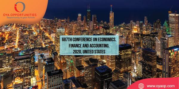 687th Conference on Food and Pharma, 2020, USA