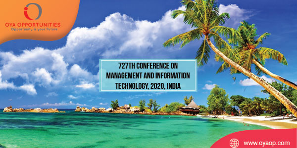 835th Conference on Management and Information Technology, 2020