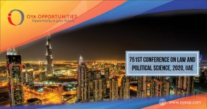 751st Conference on Law and Political Science, 2020, UAE