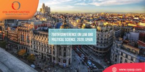 756th Conference on Law and Political Science, 2020, Spain