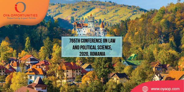 765th Conference on Law and Political Science, 2020, Romania