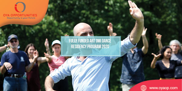 Fully Funded Art Omi Dance Residency Program 2020