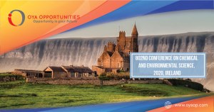 802nd Conference on Chemical and Environmental Science, 2020, Ireland