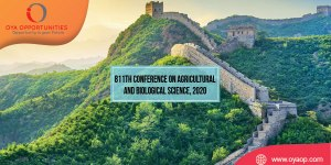 811th Conference on Agricultural and Biological Science, 2020