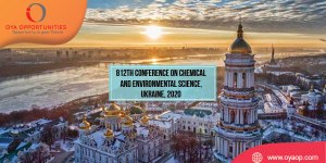 812th Conference on Chemical and Environmental Science, Ukraine
