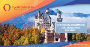 819th Conference on Environmental Science ,2020, Germany