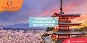 822nd Conference on Environmental Science, 2020, Japan