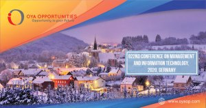 822nd Conference on Management and Information Technology, 2020, Germany