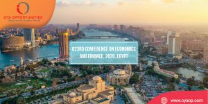 823rd Conference on Economics and Finance, 2020, Egypt