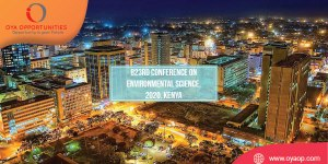 823rd Conference on Environmental Science, 2020, Kenya