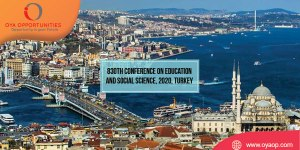 830th Conference on Education and Social Science, 2020, Turkey