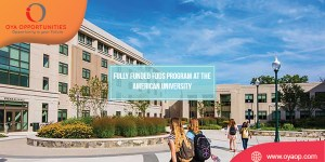 Fully Funded FDDS Program at the American University