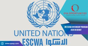 UN ESCWA Internship Program 2020 in Beirut